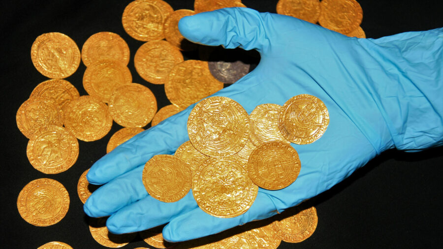 Gold Coins, Medieval Treasures Discovered in British Countryside During Lockdown