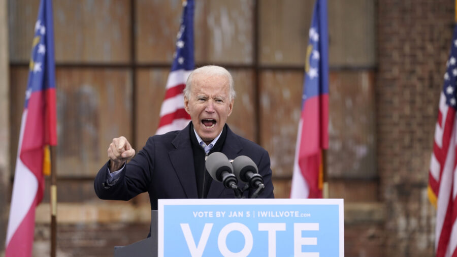 Biden Urges Georgia Voters to Choose Democrats in Senate Runoffs