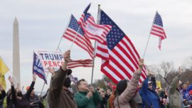 Trump Supporters in DC Rally Says 'We Feel Like This Is a Historical Moment'