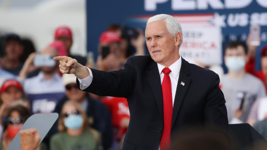 Pence Sued After No Agreement Reached on 'Exclusive Authority' Over Election Results: Court Filing
