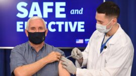 Vice President Pence Gets Injected With COVID-19 Vaccine