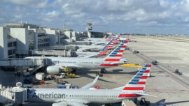 American Airlines Launches Wine Service
