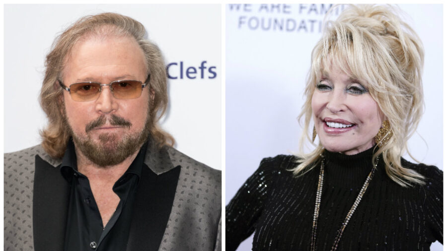 Barry Gibb and Dolly Parton Remake a Bee Gees Classic