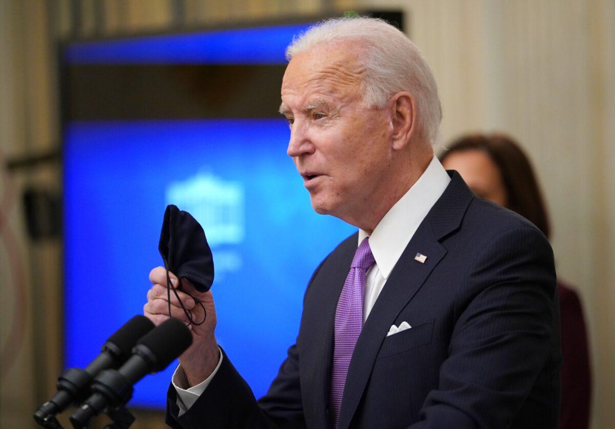Biden speaks about the CCP virus response