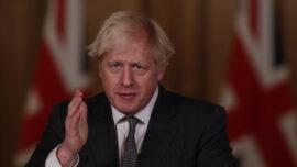 Boris Johnson Announces Full England Lockdown Amid New CCP Virus Variant Fears
