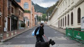 Colombia's Bogota To Enter Lockdown Amid New Strain Concerns