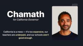 Venture Capitalist Declares Bid for California Governor