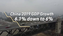 China Lowers Its 2019 GDP Growth to 6 Percent