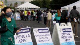 California Disneyland Opens Vaccine Super Site