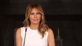 First Lady 'Disappointed' With Violence in Washington, Calls for America to 'Heal'