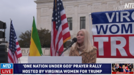 Virginia Women for Trump Rally at Supreme Court for Fair Election
