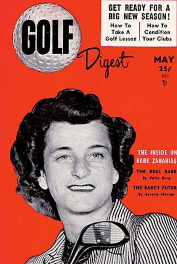 Babe Zaharias pada Mei 1954