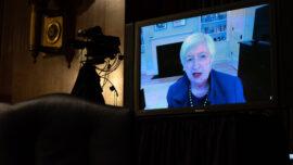 Janet Yellen Urges Congress to 'Act Big' on Relief Despite Debt Burden