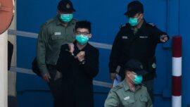 Joshua Wong Arrested From Prison to Face Charges Under Beijing's 'National Security Law'