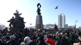 Police Crack Down on Russian Protests Against Jailing of Navalny