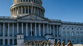 Troops Remaining in DC 'Political': Lt. Rogers