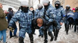 Mass Detentions in Russia After Navalny Sentencing