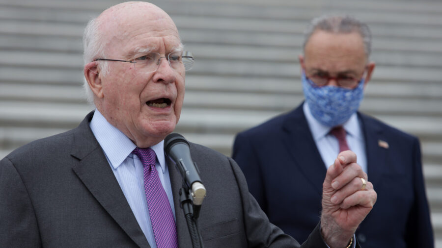 Sen. Leahy to Preside Over Trump's Impeachment Trial