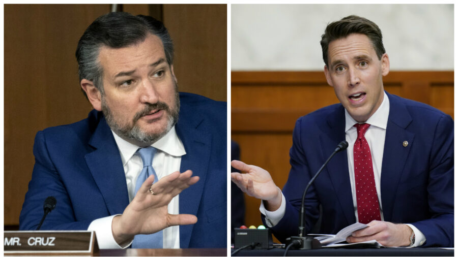 Cruz, Hawley Respond After Biden Compares Them to Nazi Propagandist