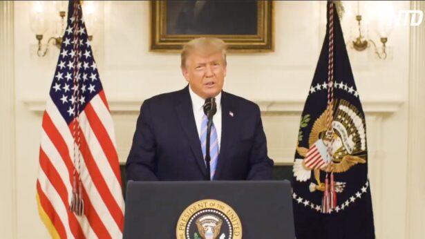 Pesan video Trump