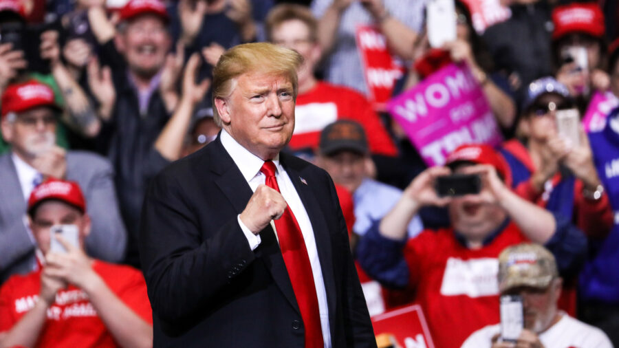 Trump to Supporters: 'Our Incredible Journey Is Only Just Beginning'