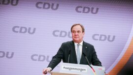Centrist Laschet Picked to Lead Merkel's Divided CDU Party