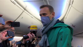 Kremlin Critic Navalny Lands in Russia, Flying Home Despite Arrest Threat