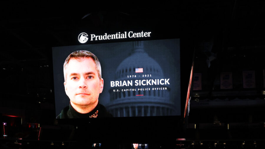 Capitol Police Officer Brian Sicknick's Mother: 'He Wasn't Hit on the Head' by Trump Supporter