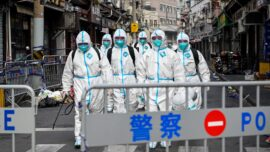 CCP Virus Cases Surge in Eastern Chinese City