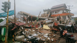 Strong Quake in Indonesia Kills at Least 35, Injures Hundreds