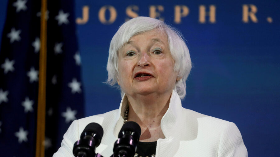 Senate Confirms Janet Yellen as Secretary of Treasury