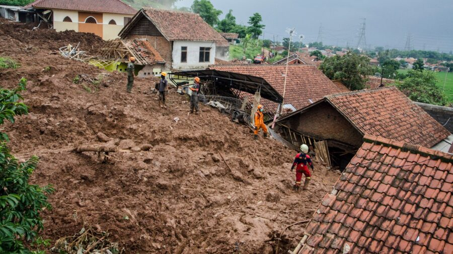 26 Missing, at Least 13 Dead in Indonesia Landslides