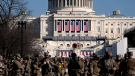 DC Sets Up Security Ahead of Inauguration