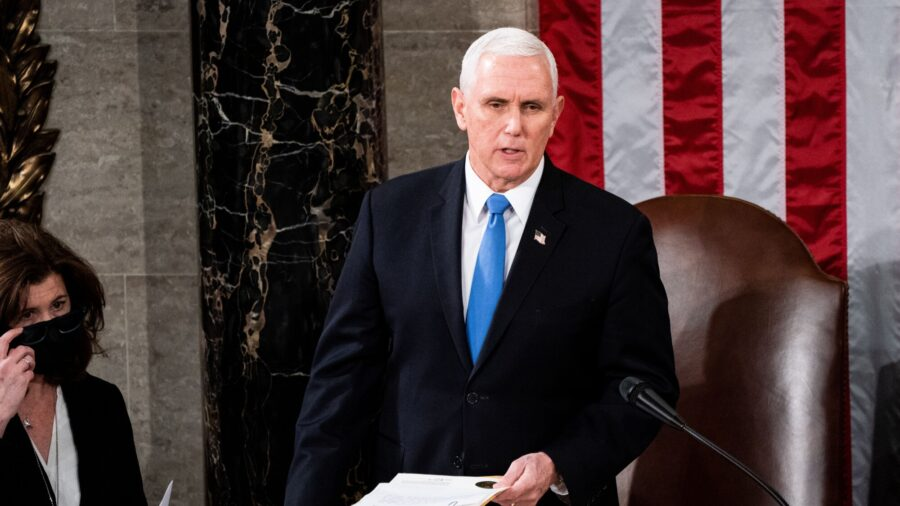 House Votes to Pressure Vice President Pence