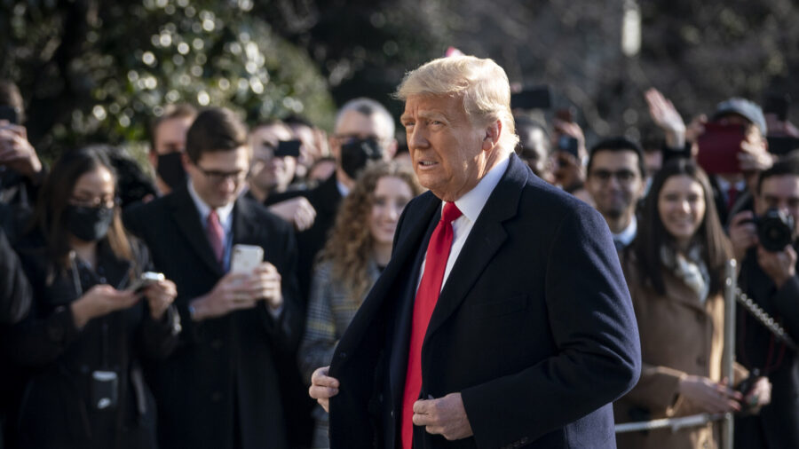 Trump Calls on Americans to Promote Peace