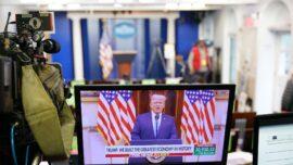 President Trump Bids Nation Farewell
