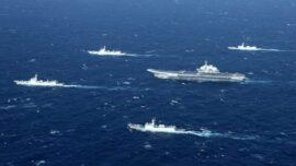 Chinese Military Simulates Taiwan Invasion