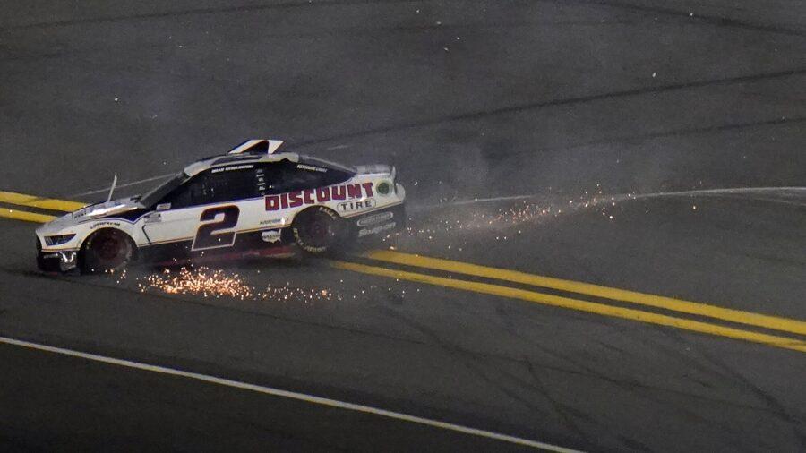 Logano Wants Peace at Penske Following Daytona 500 Crash