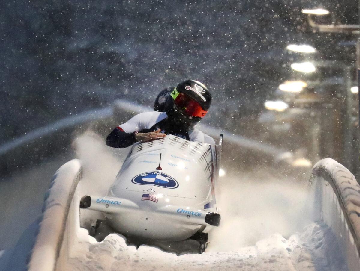APTOPIX Germany Bobsled Worlds