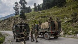 Indian Army Holds Drills Near Chinese Border