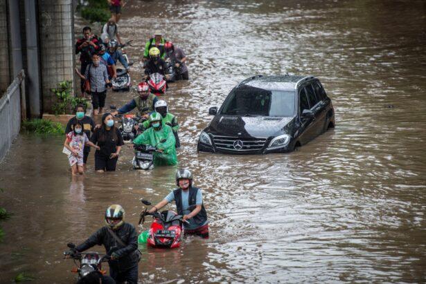Indonesia monsoon flood