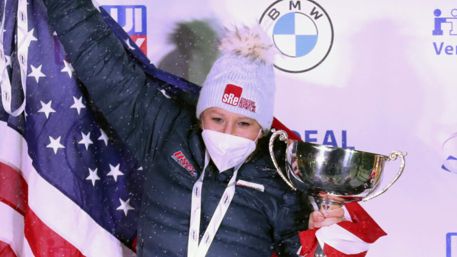 Humphries, Jones Win Historic World Bobsled Title for US