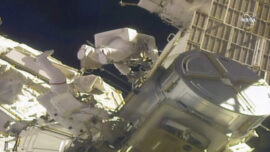 Spacewalkers Finishing 4 Years of Power Upgrades for Station