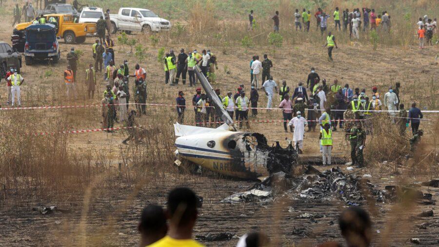Nigerian Air Force Passenger Plane Crash Kills 7 People