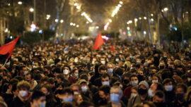 10 Arrested in Barcelona as Protests Over Jailed Rapper Turn Violent