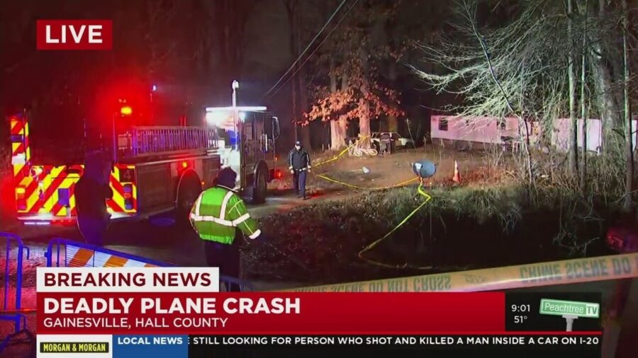 3 Killed After Airplane Wing Strikes Home During Crash