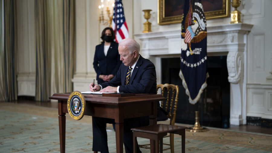 Biden Revokes 7 Trump Executive Orders, Offers No Explanation
