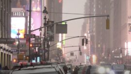 New Yorkers Preparing for Nor'easter