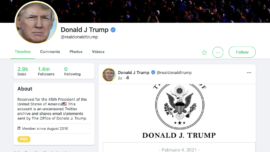 Gab CEO Denies Trump Signed Up for Website