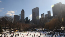 Trump's Ice Rinks in Central Park to Remain Open as Demand Prompts de Blasio to Delay Termination